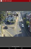 Screenshot of Traffic Wales Traffig Cymru