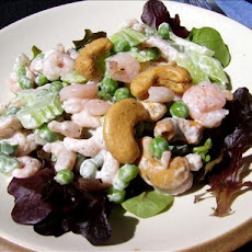 Cashew, Shrimp and Pea Salad