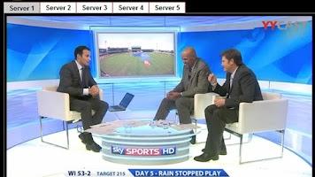 Screenshot of World Sports Streams