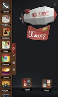 Screenshot of DCikonZ Leather TSF Theme