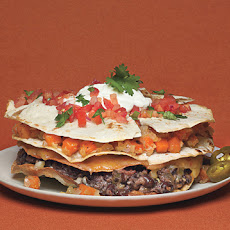 Stacked Veggie Quesadilla