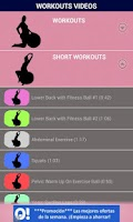 Screenshot of Pregnancy Workouts & Tips