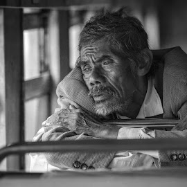 by Nicholas Wibowo - People Portraits of Men ( Emotion, portrait, human, people )