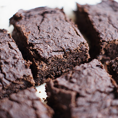 Low Fat Low Calorie Black Bean Brownies