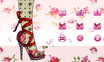 Screenshot of Sally's Shoe Design Lite