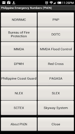 Philippine Emergency Numbers