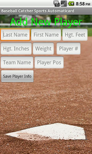 Catcher Card Creator Free