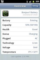 Screenshot of Bonjour! Battery (Lite)