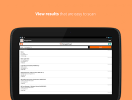 Screenshot of Job Search - Simply Hired
