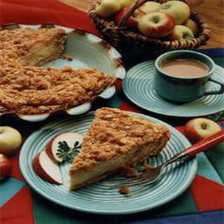 Easy Apple Custard Pie