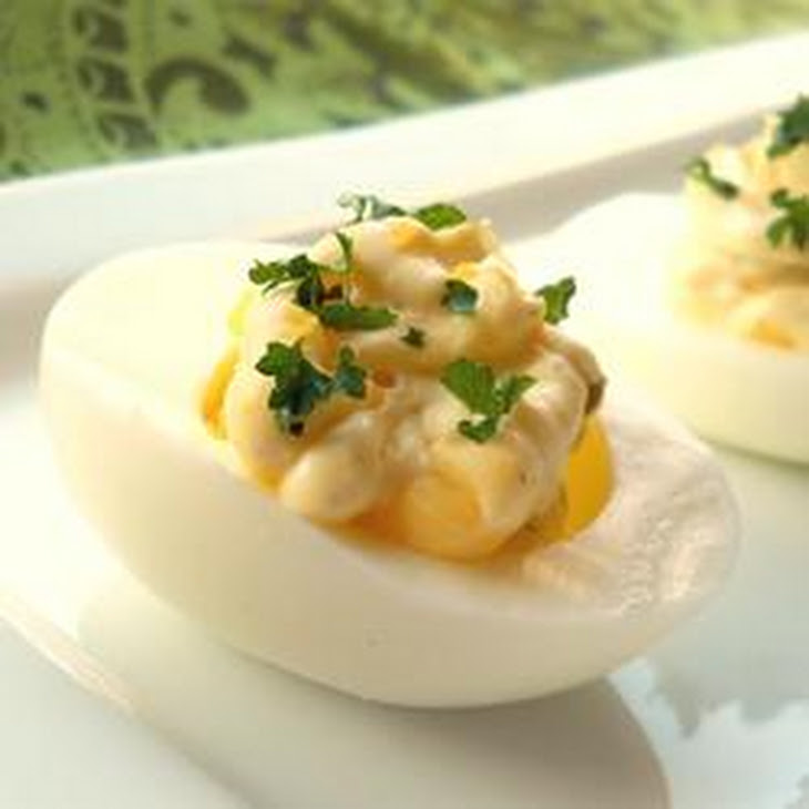 Creamy Deviled Eggs Recipe — Dishmaps