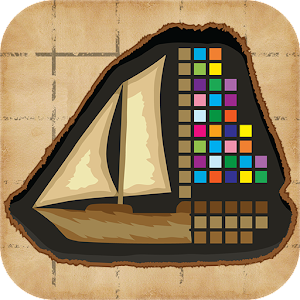 Reveal a hidden image in a fun and addictive puzzles! APK Icon
