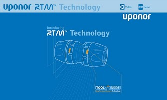 Screenshot of Uponor RTM™ Interactive