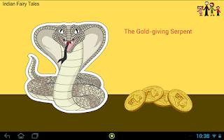 Screenshot of The Gold-giving Serpent