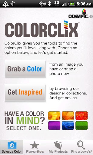 ColorClix by Olympic® Paint