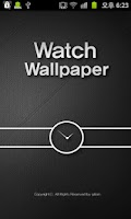 Screenshot of Wallpaper Clock