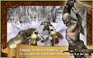 Screenshot of The Bard's Tale