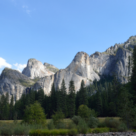 cathedral spires by Tim Hauser - Landscapes Mountains & Hills ( mountains, yosemite, art, fine art, national parks, cathedral spires )