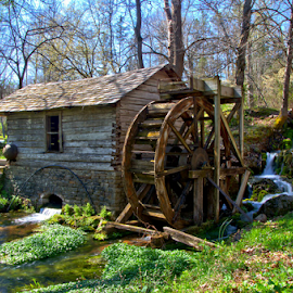 Reed Springs Grist Mill by Steve Edwards - Buildings & Architecture Public & Historical ( building, public & historical, springs, buildings & architecture )