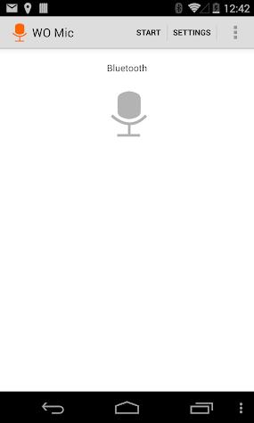 WO Mic - FREE microphone Screenshot