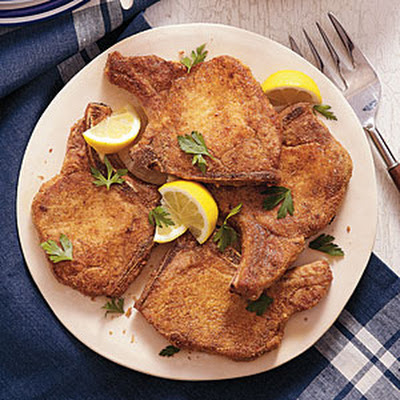 Cajun-Seasoned Pan-Fried Pork Chops