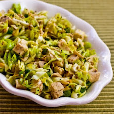 Sandee's Sensational Asian Salad with Chicken and Cabbage