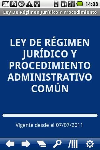 Ley R. Jur. y Proc. Adm. Común