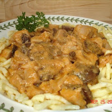Chicken Goulash (Chicken Stew)