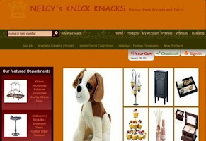Screenshot of Neicy's Knick Knacks