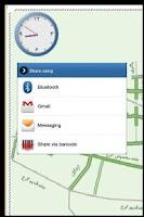 Screenshot of نقشه آنلاین ترافیک تهران