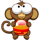 Bubble Monkey mobile app icon
