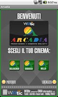 Screenshot of Webtic Arcadia Cinema