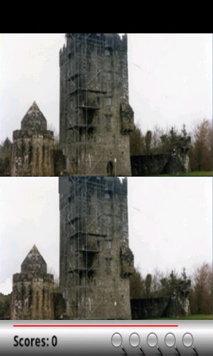 Find the Differences: Castles