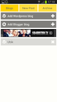 Screenshot of Easy WordPress & Blogger