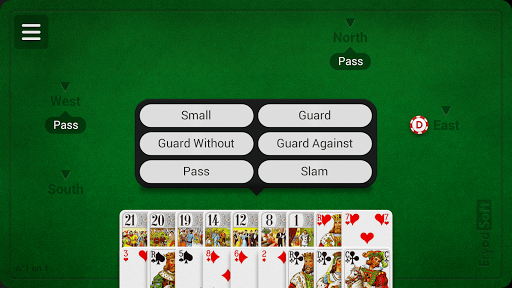 French Tarot - screenshot
