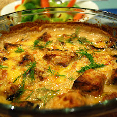 Eggplant (Aubergine) and Cheese Casserole