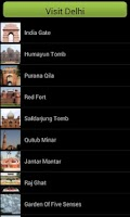 Screenshot of Visit Delhi