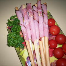 Sticks of Ham With Honey (Tapas)