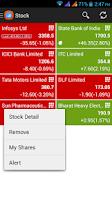 Screenshot of Stock Tracker - Portfolio