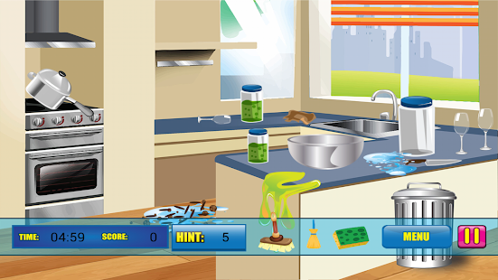 Screenshot #3 for hidden objects - big london - secret paradise - fish kitchen