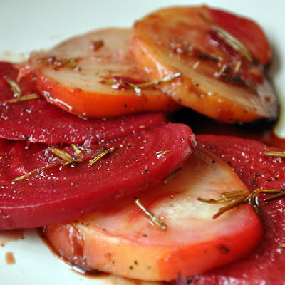 Balsamic-Honey Roasted Beets