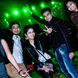 New Year Party 2015 by Rishav Chakraborty - News & Events Entertainment ( inspiration, moods, colorful, january, emotions, happiness, vibrant, people, mood factory )