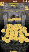 Screenshot of Coin Plunger. Medieval Castle