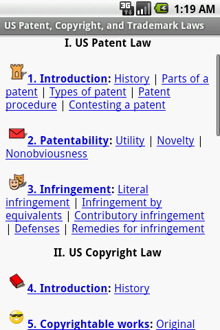 US Patent Copyright and Trad
