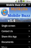Screenshot of MySkylla Mobile Buzz v1.4