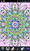 Screenshot of Picasso - Kaleidoscope Draw!