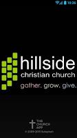 Screenshot of Hillside Christian