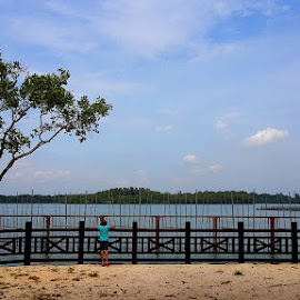 pulau ubin by NellA Allen - Landscapes Beaches ( holiday, pulau, ubin, singapore, island )