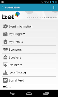 iVvy Conference Assistant - screenshot