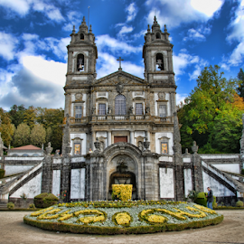 Bom Jesus de Braga by Antonio Amen - Buildings & Architecture Places of Worship